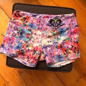 Born Primitive Booty Shorts - Pastel Peacock